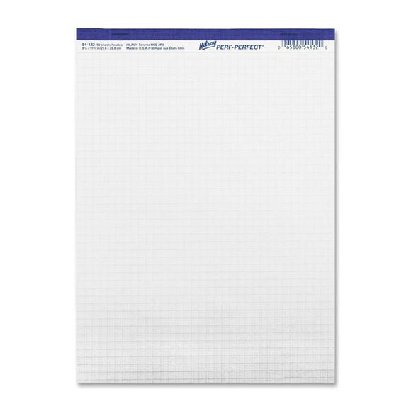 Hilroy Micro Perforated Quadrille Business Pad