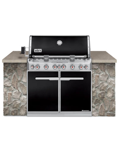 BBQ SUMMIT E660 LP BUILT IN