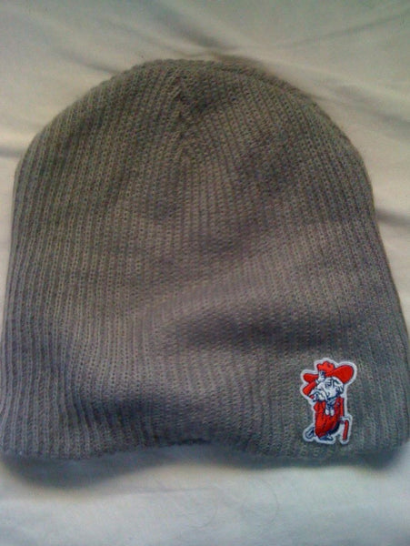 Finz up! Adult Loose Fit Knit Beanie (Col Reb)
