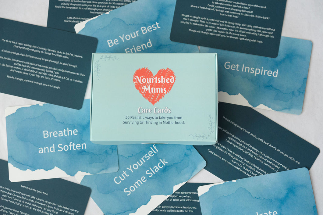 Nourished Mums Care Cards (Nourish To Thrive)