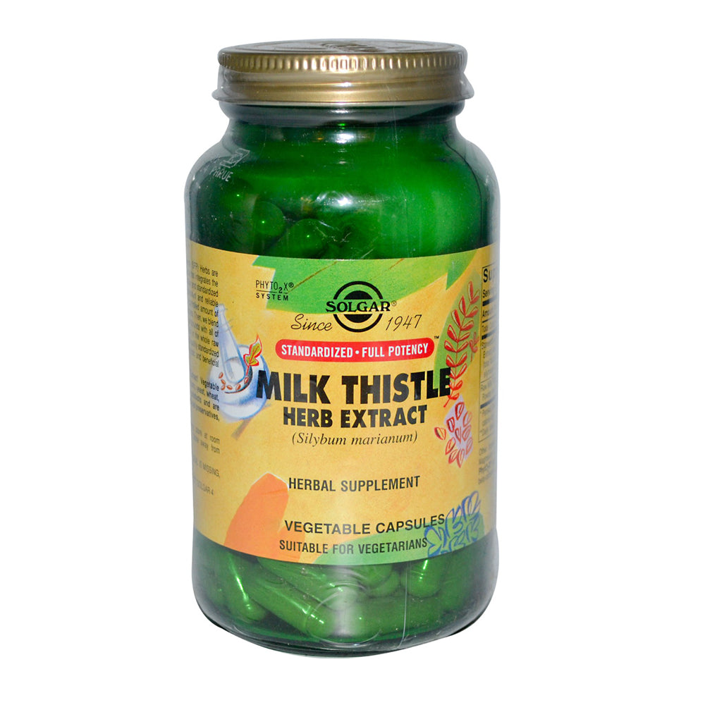 Milk Thistle Herb Extract 60 veg caps [Solgar]