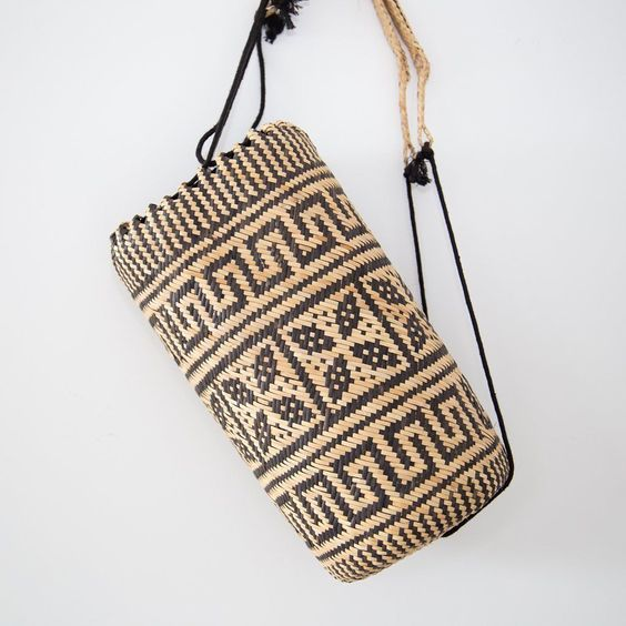 Hand Woven Backpack / Basket