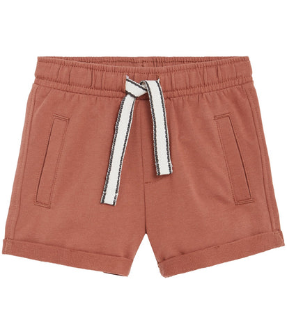 Baby shorts with drawstring waist