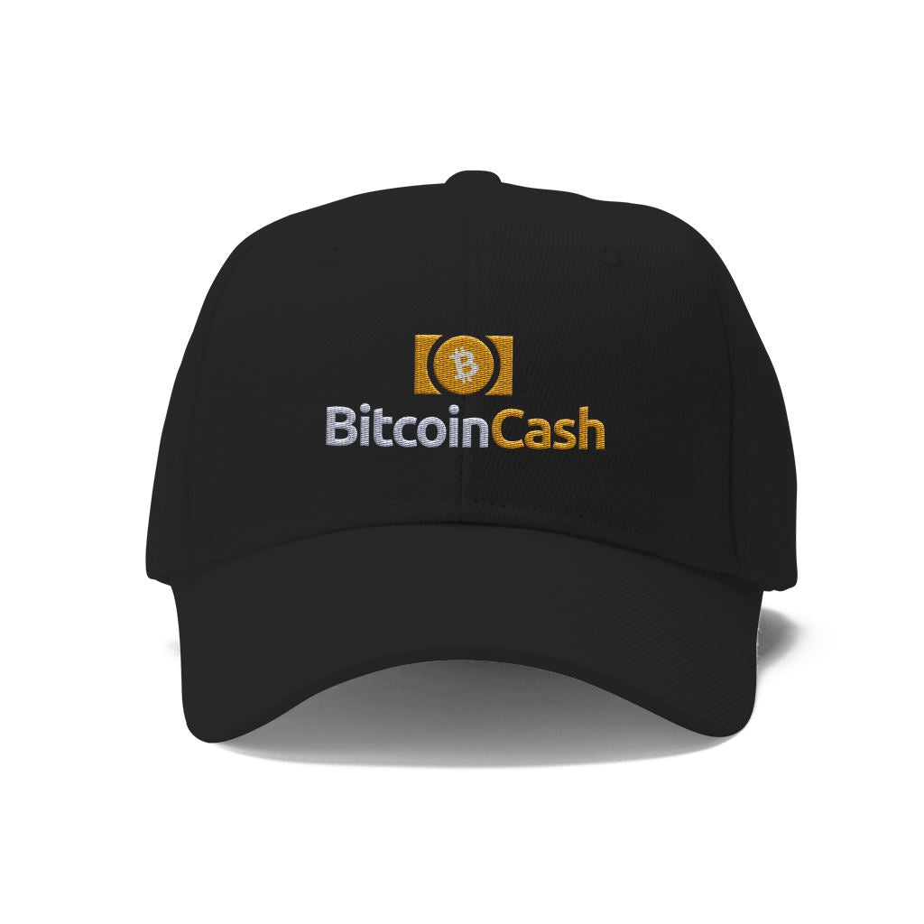 Bitcoin Cash BCH Cryptocurrency Logo Hat