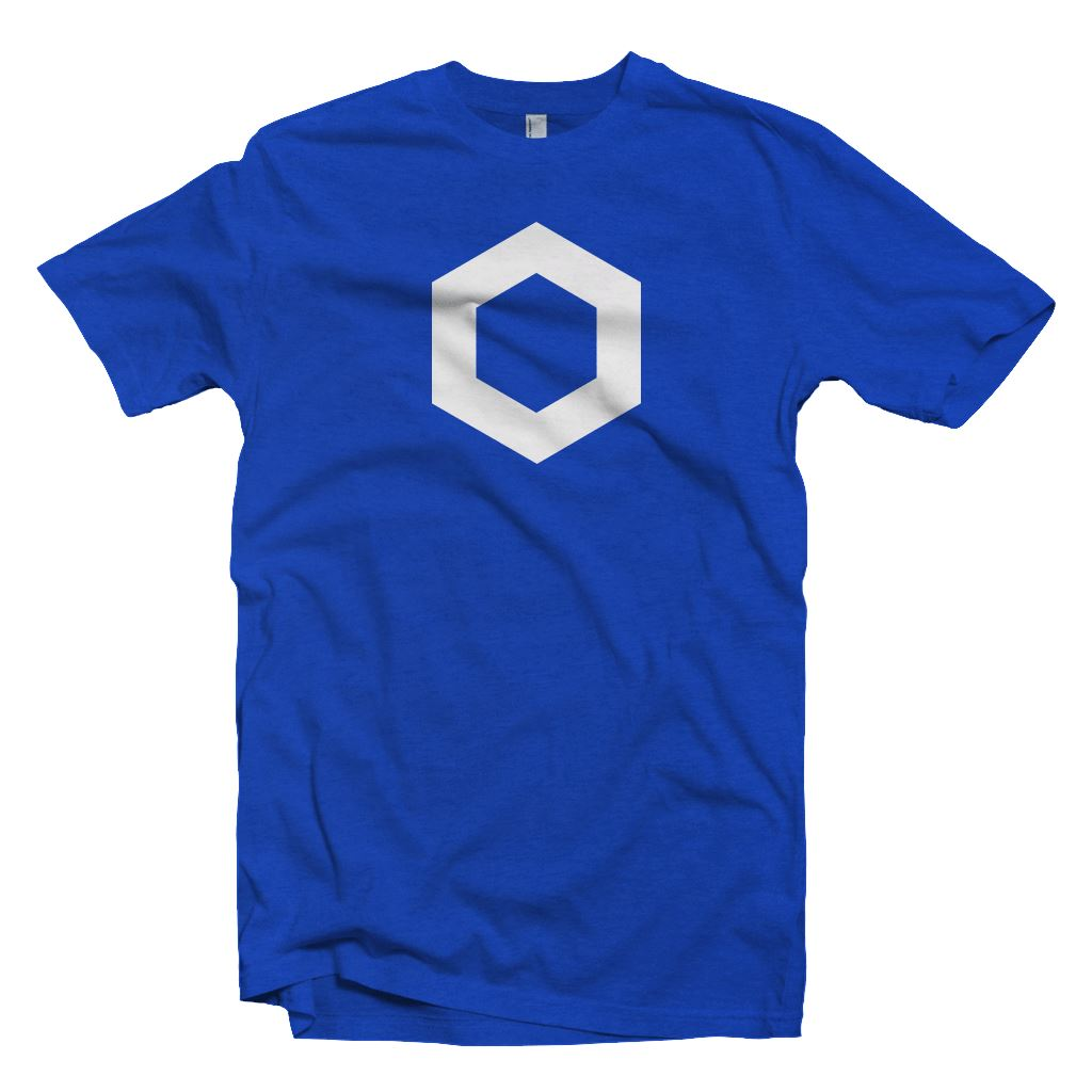 Chainlink LINK Cryptocurrency Symbol T-shirt