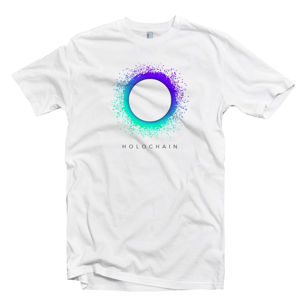 Holochain HOT Crypto Original Logo T-shirt