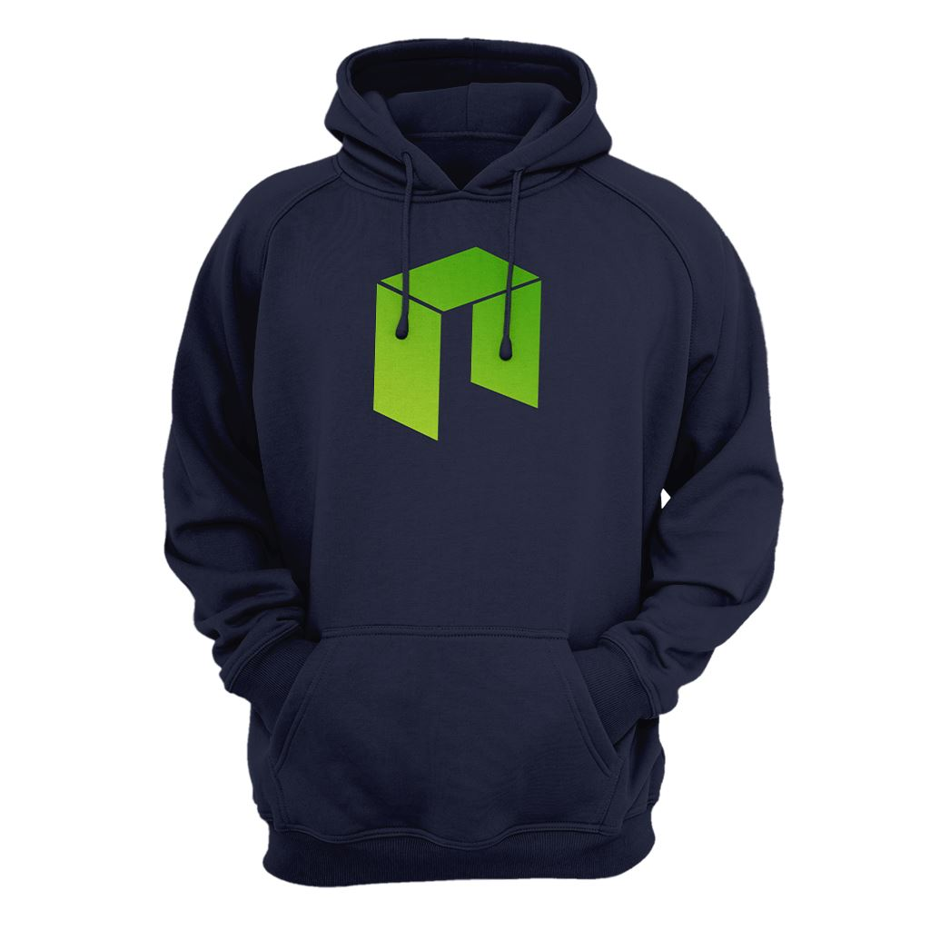 Neo Cryptocurrency Logo Symbol Hoodie