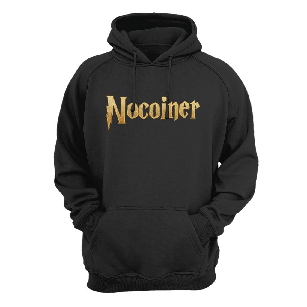Nocoiner, disbeliever in Bitcoin and Crypto Hoodie