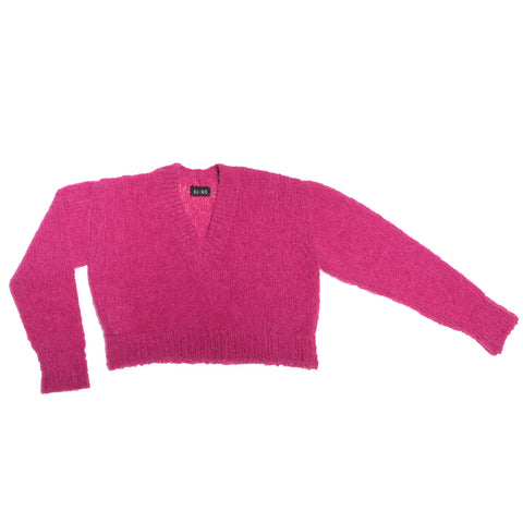 KAEMON CROPPED JUMPER PINK