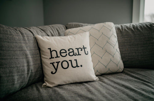 Heart You Pillow Cover