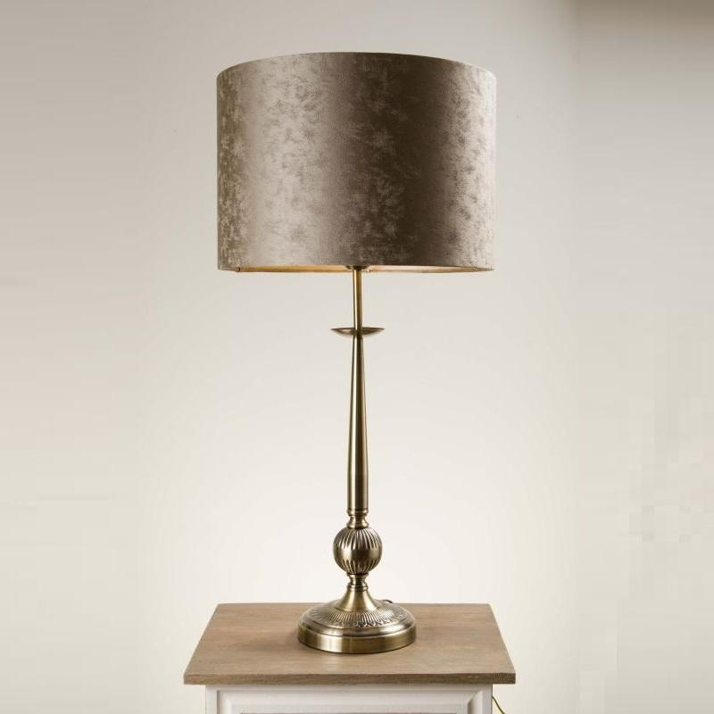 Telford Antique Brass Table Lamp