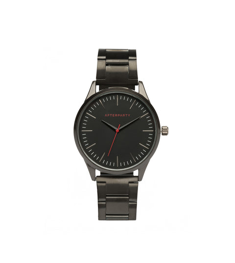 Urban Oversized Black Bracelet Watch