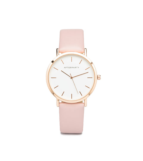 Marshmallow Pink Rose Gold Watch
