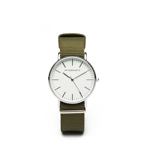 Urban Khaki Green Nylon Watch