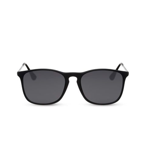 Classic All Black Sunglasses in Matte Black