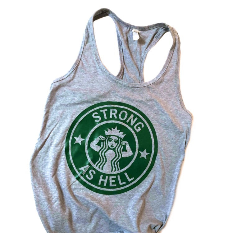 Strong As Hell Adult Tank - That Oregon Girl