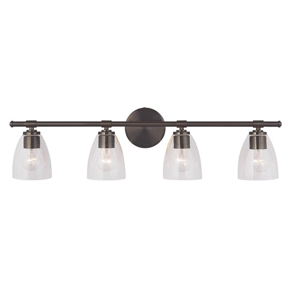 Solebay 4 Light Vanity - Bronze Finish
