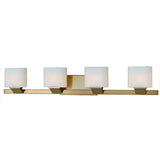 Mariana Home - Endive 4 Light Wall Sconce - Bath Vanity- Burnished Bronze Finish - 380443