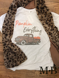 Pumpkin Everything Tee