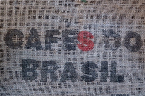 Brazil Cerrado green unroasted coffee bag
