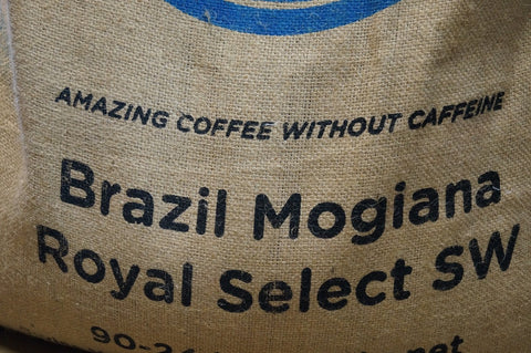 Brazil Mogiana Decaffeinated  Swiss Water or Decaf  SWP coffee