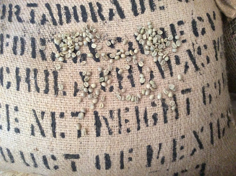 Mexican SHG Strictly High Grown unroasted green coffee beans