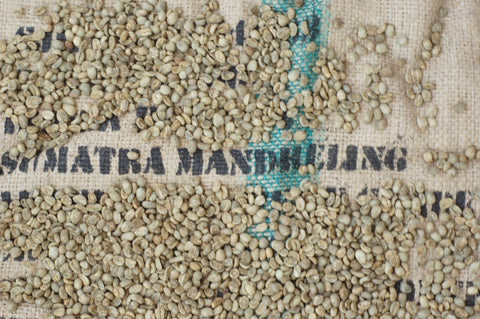 Indonesia Sumatra Mandheling unroasted green coffee beans