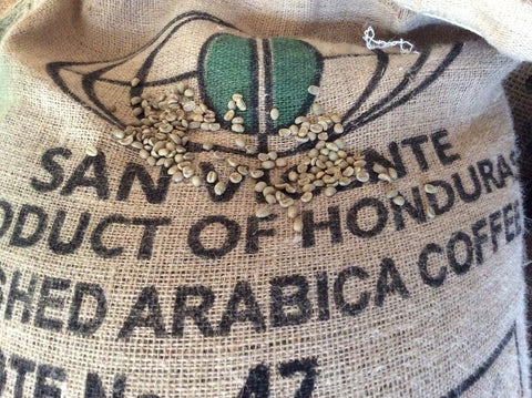 Honduras vicente high grown unroasted green coffee beans