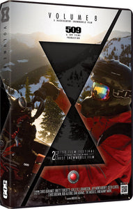 509 Films Volume 8, Extreme Back country Snowmobiling DVD, 2013