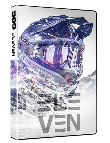 509 Films Volume 11, Extreme Back country Snowmobiling DVD, 2016