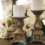 Ornate Gold Candlesticks