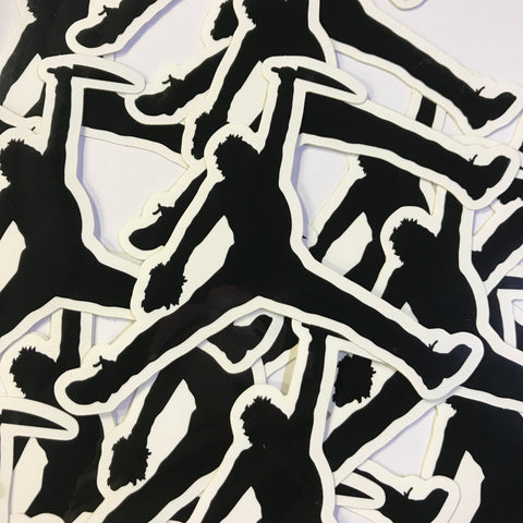 Just Kill It - Air Goredon - Black - Sticker