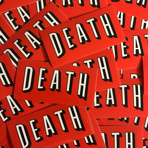 Deathflix - Sticker