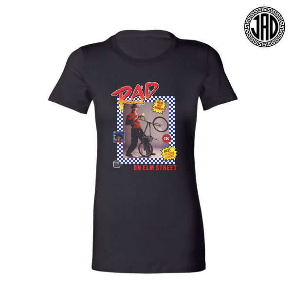 Rad On Elm St - Women's Tee