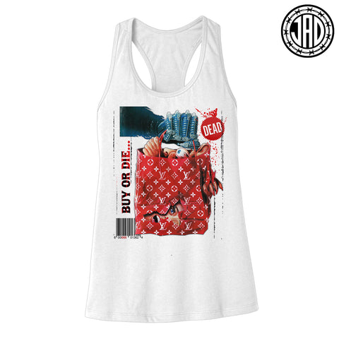 Shop Til You Drop - Women's Racerback Tank