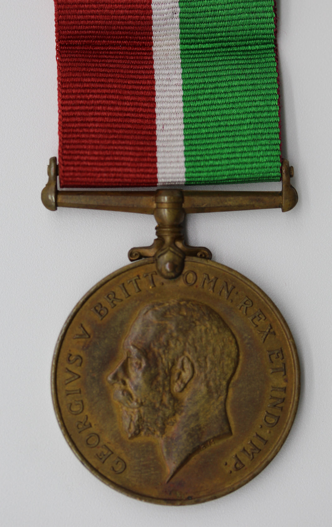 GB King George V 1914-1918 WWI Mercantile Marine Medal