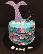 Mermaid Tail Fondant Speciality Cake - Speciality cakes