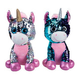 Glitzies magic sequin bamse med palietter