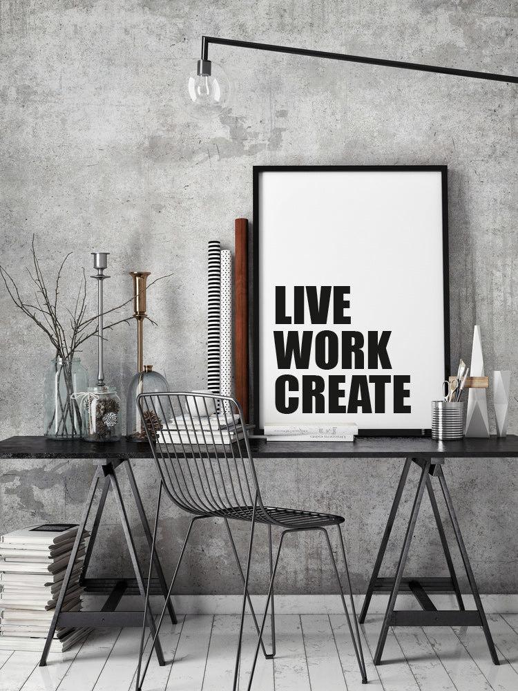 No.046 - Live Work Create