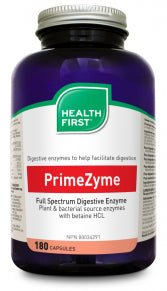 HEALTH FIRST PRIMEZYME 180 CAPS
