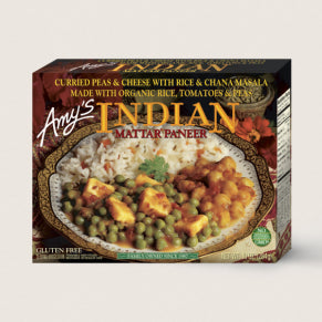 Amy's Indian Mattar Paneer 284 g