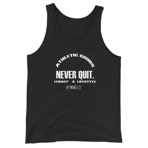 Never Quit Tank Top (Black)