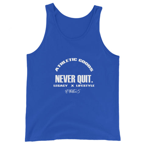 Never Quit Tank Top (Blue)