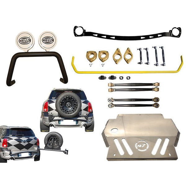 Ultimate off road lift kit customised R60 Mini countryman and paceman