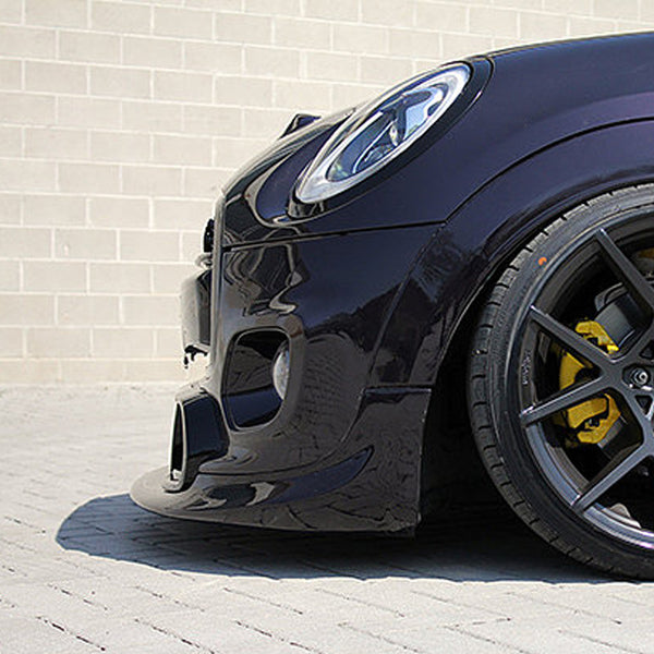 Mini F56 Front bumper trim splitter lip from Mini Works