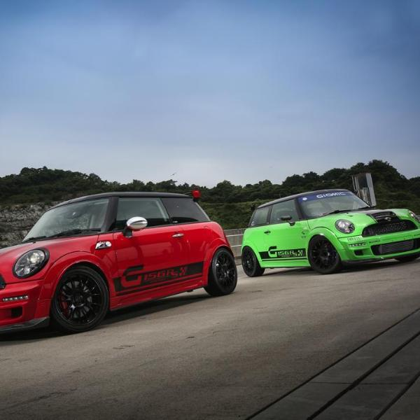 Giomic Mini R56 full body kit from Mini Works