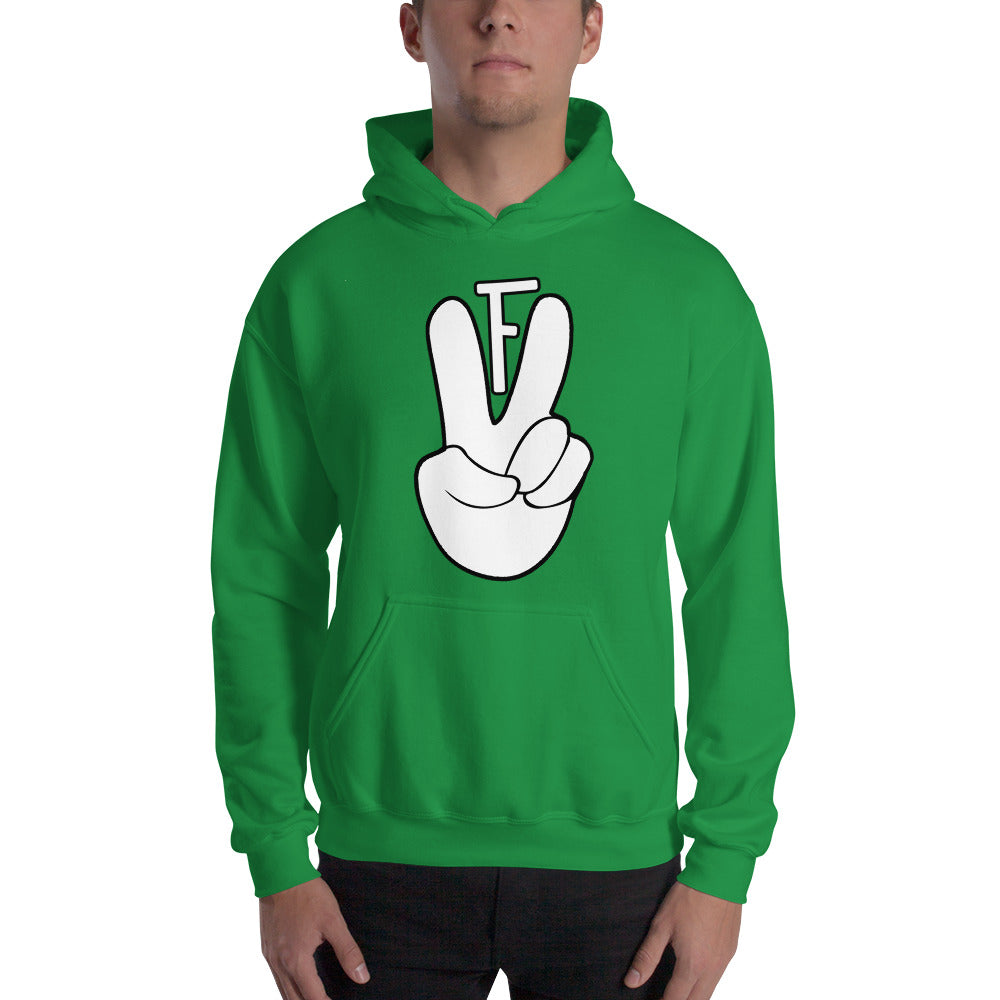 DEUCE HAND Hooded Sweatshirt