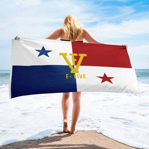 F-FIVE Panama Flag Towel