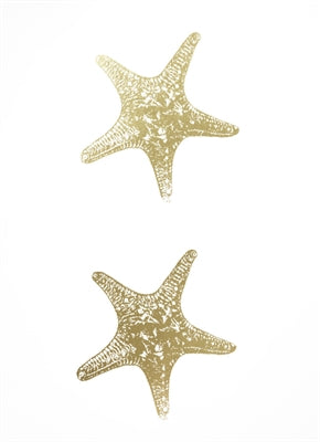 2-Up Gold Foil Starfish I
