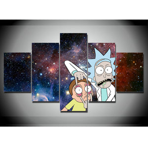 RICK AND MORTY CANVAS ART